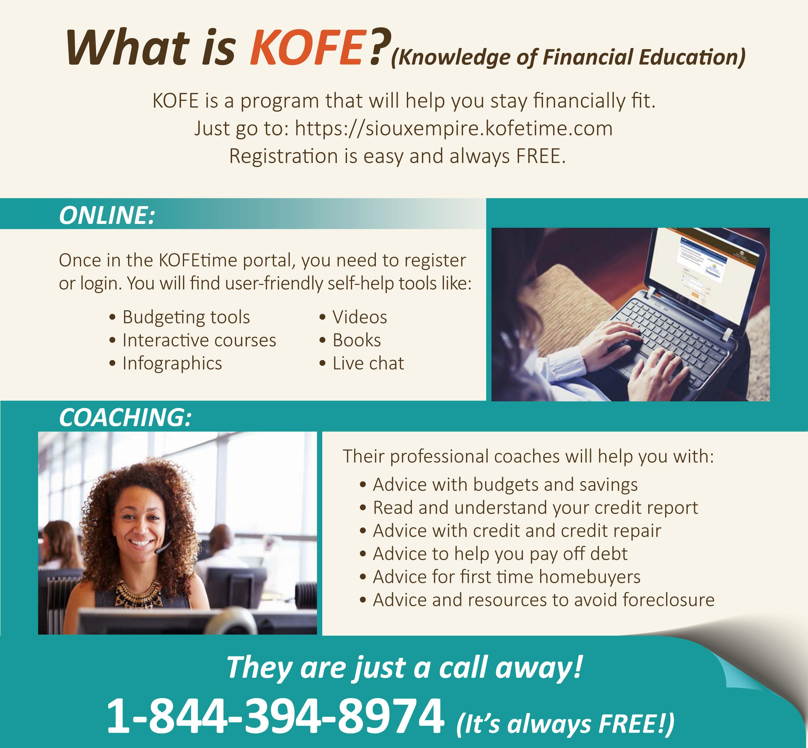 KOFE Program Infographic